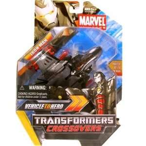 Marvel Transformers Crossovers   Iron Man (black) Toys & Games