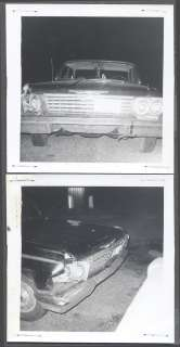 Vintage Car Wreck Photos 1962 Chevy Chevrolet 698192