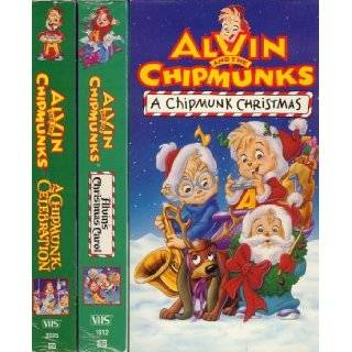 Alvin and the Chipmunks (Christmas Celebration 3 pack) ( VHS Tape )