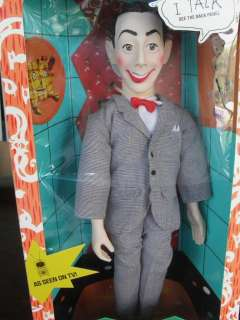 17 Pee Wee Herman Talking doll by Matchbox 1987 Pull String MINT IN