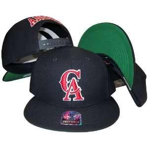 California Los Angeles Anaheim Angels Navy Plastic Snapback Adjustable