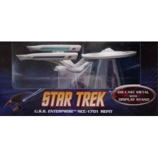 Hot Wheels STAR TREK USS Enterprise NCC 1701 Refit Diecast