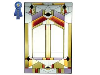 YOUR CHOICE OF ANY Grand Vertical Painted Glass Panel N SIZE