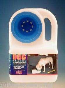 Lixit Dog Travel Water Bowl Waterboy 3 quart portable