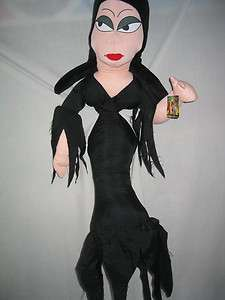 MORTICIA ADDAMS ELVIRA DOLL new could be Haunted