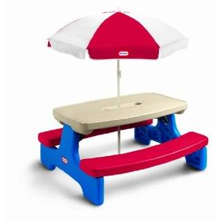Little Tikes Easy Store Table With Umbrella
