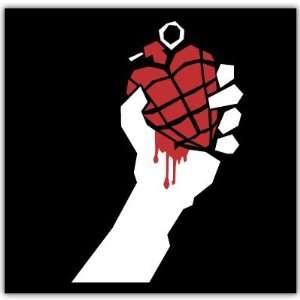 Green Day American Idiot bumper sticker decal 4 x 4
