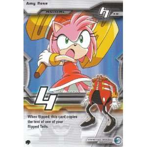 Sonix X Premier Edition TCG Rare Card  Amy Rose #R 92: Toys & Games