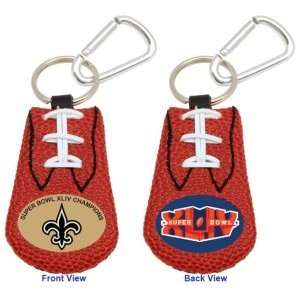 New Orleans Saints NFL Football Keychain Super Bowl 44