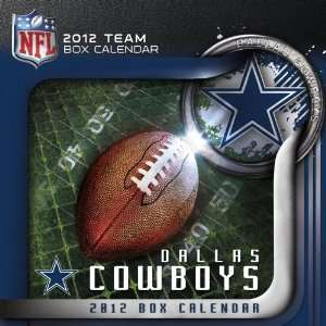 2012 DALLAS COWBOYS BOX CALENDAR (9781436090681): Perfect