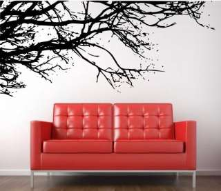 Giant Large Tree Branch Wall Art Sticker Decals Kitchen