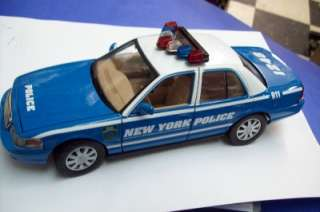 24 Ford Crown Victoria New York Police NYPD Car Blue