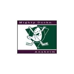 NHL Hockey Anaheim Mighty Ducks 60X50 All Star Blanket/Throw   Fan