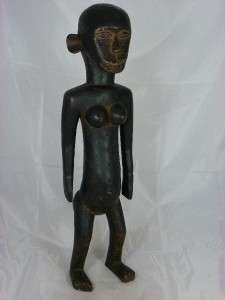 Stunning Rare Old African Tribal Art MAKUA Figure Collectible Tanzania