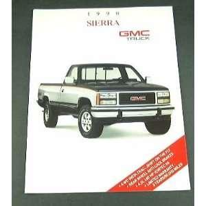 1990 90 GMC SIERRA Truck SUV BROCHURE C1500 K2500