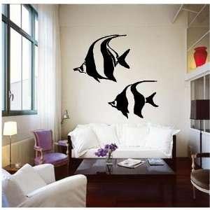 Angelfish Angel Fish Vinyl Wall Art Decal