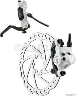 Tektro Auriga Pro Rear 160mm Hydraulic Disc Brake White/Black