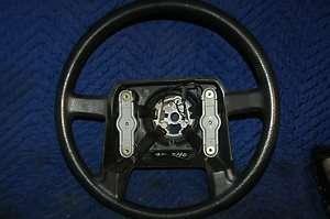 VOLVO 240 1990 1993 STEERING WHEEL BLACK 3516352