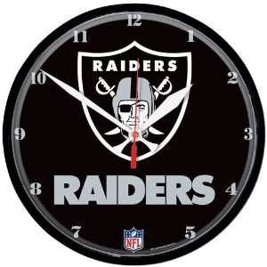 Oakland Raiders Logo Clock:  Home & Kitchen
