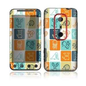 Animal Squares Design Decorative Skin Cover Decal Sticker