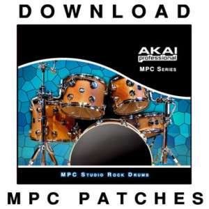 AKAI MPC REAL DRUM KIT ACOUSTIC JAZZ 2000XL XLMCD 2500