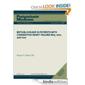 (Postgraduate Medicine) Robert P. Frantz  Kindle Store