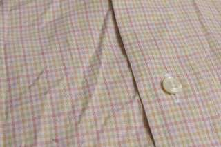 Burberry London Large Recent L/S Multicolored Casual mens Shirt NR