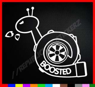 BOOSTED DOMO KUN SHOCKER CAR FUNNY VINYL STICKER truck Decal