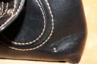 ALDO Black Handbag Hobo Satchel Purse studdes EPC