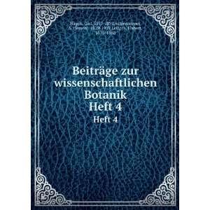 Simon), 1829 1919,Leitgeb, Hubert, 1835 1888 Nägeli: Books