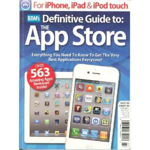 BDM`S Definitive Guide toThe App Store Volume # 3 various Books