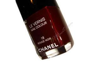CHANEL LE VERNIS NAIL COLOUR POLISH ROUGE NOIR 18