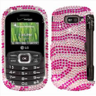 Diamond Hard Case Cover for LG Octane VN530 Verizon Accessory