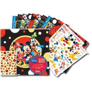 Disney Mickey and Friends Scrapbook Album Kit Arts, Crafts & Sewing
