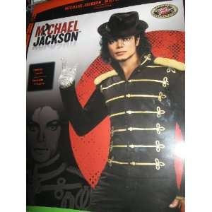 Michael Jackson Military Jacket, Wig, Hat, Glove, Glasses