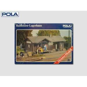 LAGERHAUS   POLA HO SCALE MODEL TRAIN BUILDINGS 662: Toys & Games