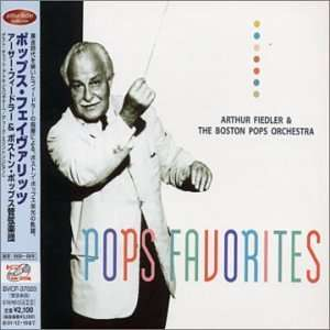 Pops Favorites Fiedler, Boston Pops Orchestra Music