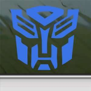 TRANSFORMERS Blue Decal AUTOBOT LOGO MOVIE Window Blue