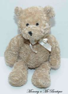 Wendy Bellissimo Tan 15 Teddy Bear Bow Plush Toy HTF