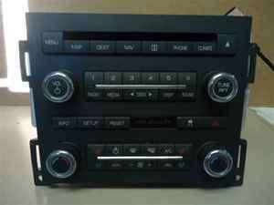 09 Lincoln MKS OEM Navigation 6 Disc CD Radio