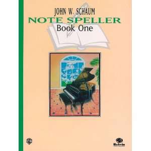 Note Speller, Book 1 (Revised) (Schaum Method Supplement