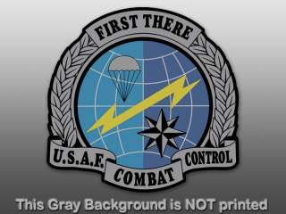 USAF Combat Control Seal Sticker   decal first there US