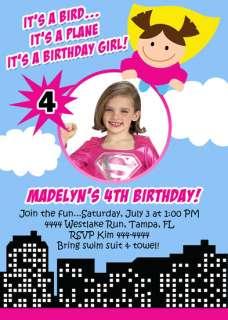 SUPER HERO SQUAD CUSTOM BIRTHDAY INVITATIONS UPRINT