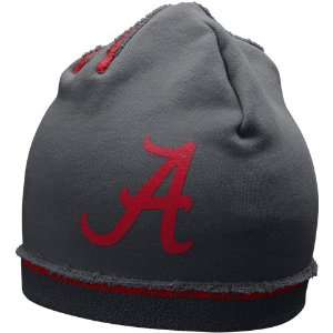 Nike Alabama Crimson Tide Charcoal Jersey Knit Beanie
