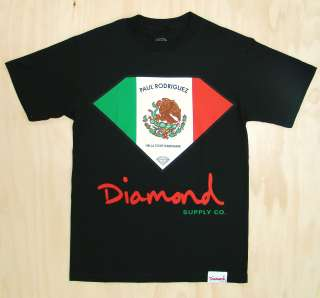 New Diamond Supply Company Co Paul Rodriguez Tee Black XL