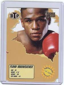 16) FLOYD MAYWEATHER 2005 Boxing Card RC LOT