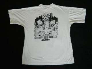 1985 IRON MAIDEN NEW YORK EVENT VTG TOUR T SHIRT OG XL
