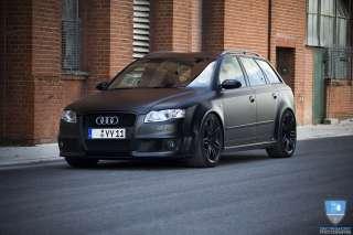 18 RS4 Wheels Rims Matte Black Fit VW Passat B5, B5.5