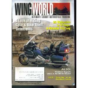 Wing World Ultimate Luxury Motorcycle Touring May 2010