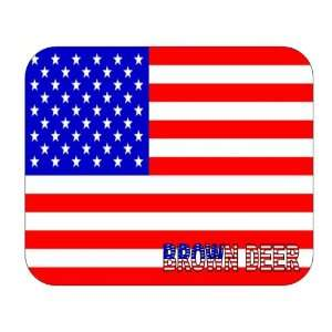 US Flag   Brown Deer, Wisconsin (WI) Mouse Pad: Everything Else